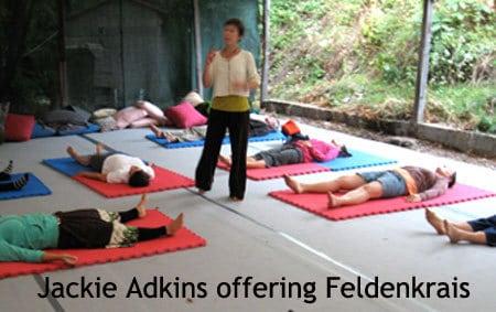 jackie leads Feldenkrais