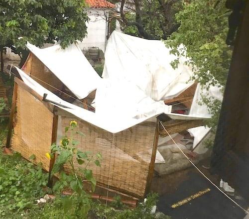 roundhouse damage